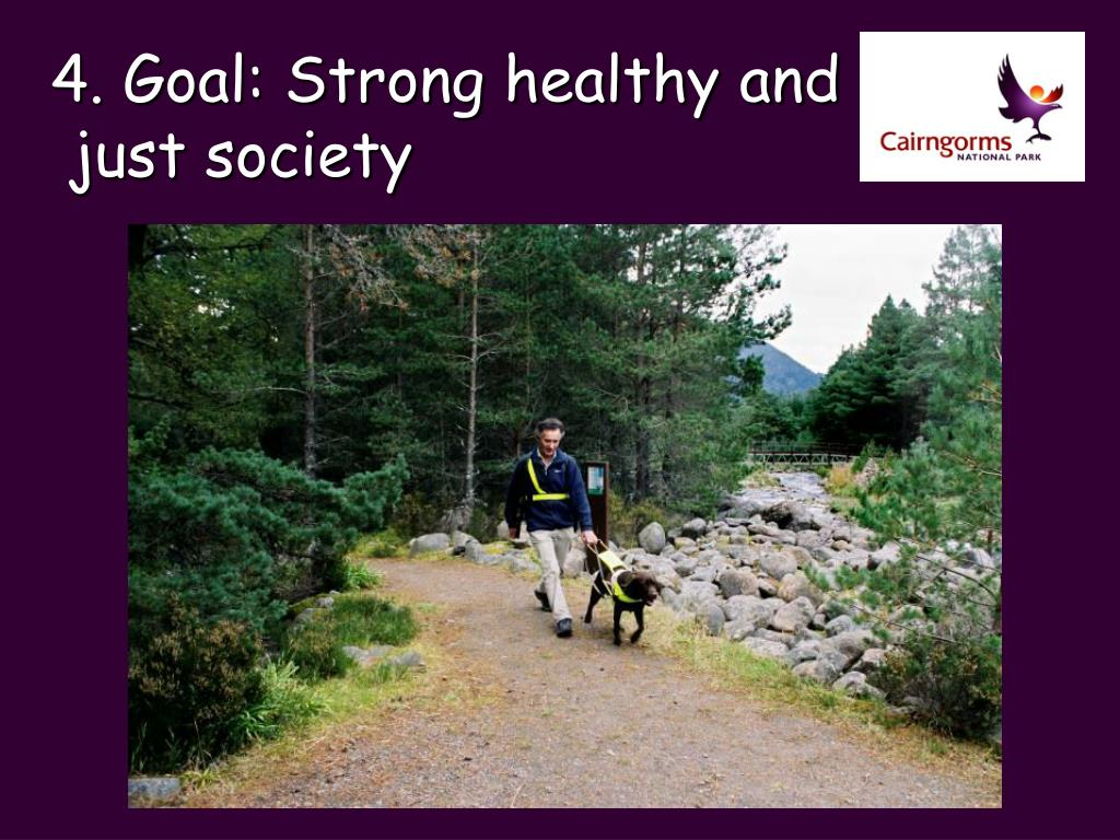 4. Goal: Strong healthy and