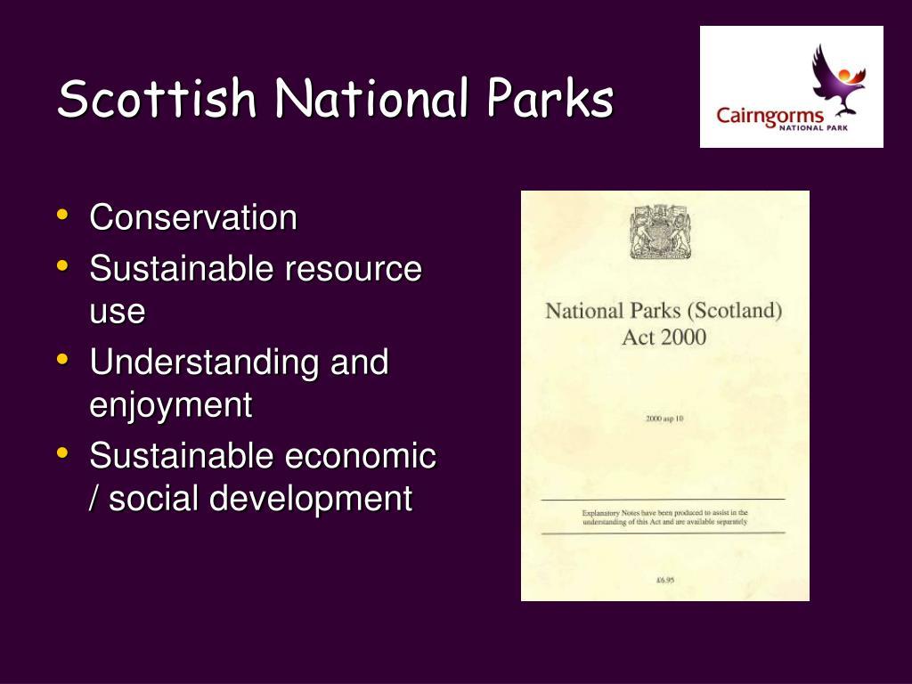 Scottish National Parks