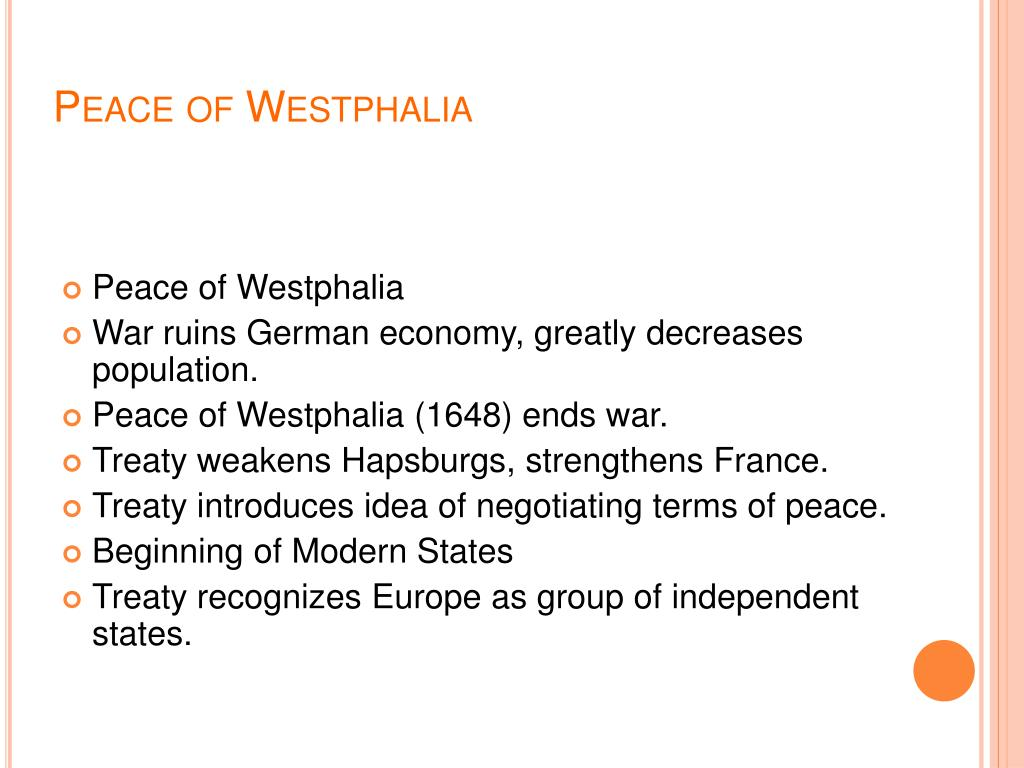 Peace of Westphalia