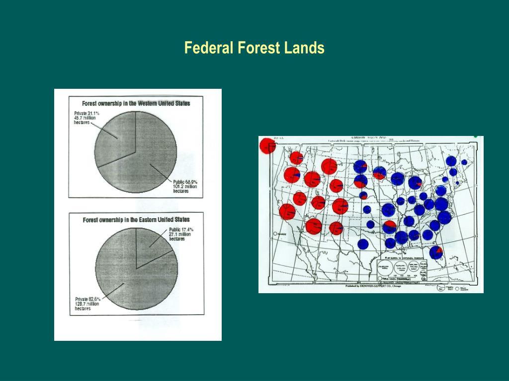 Federal Forest Lands