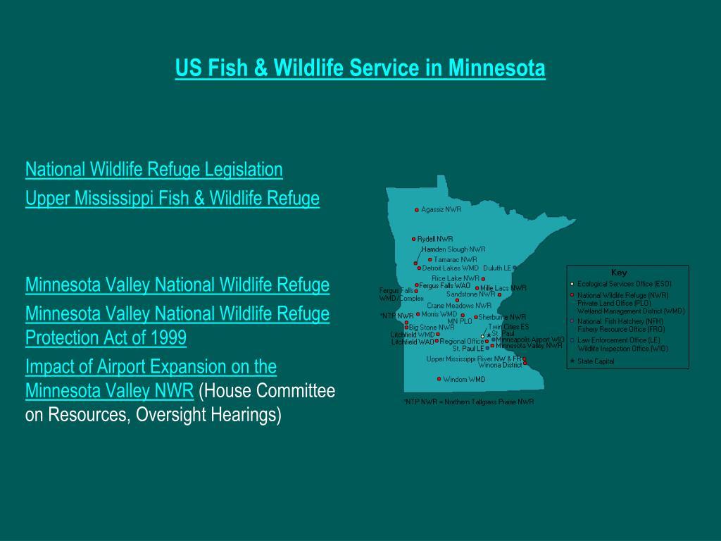 US Fish & Wildlife Service in Minnesota