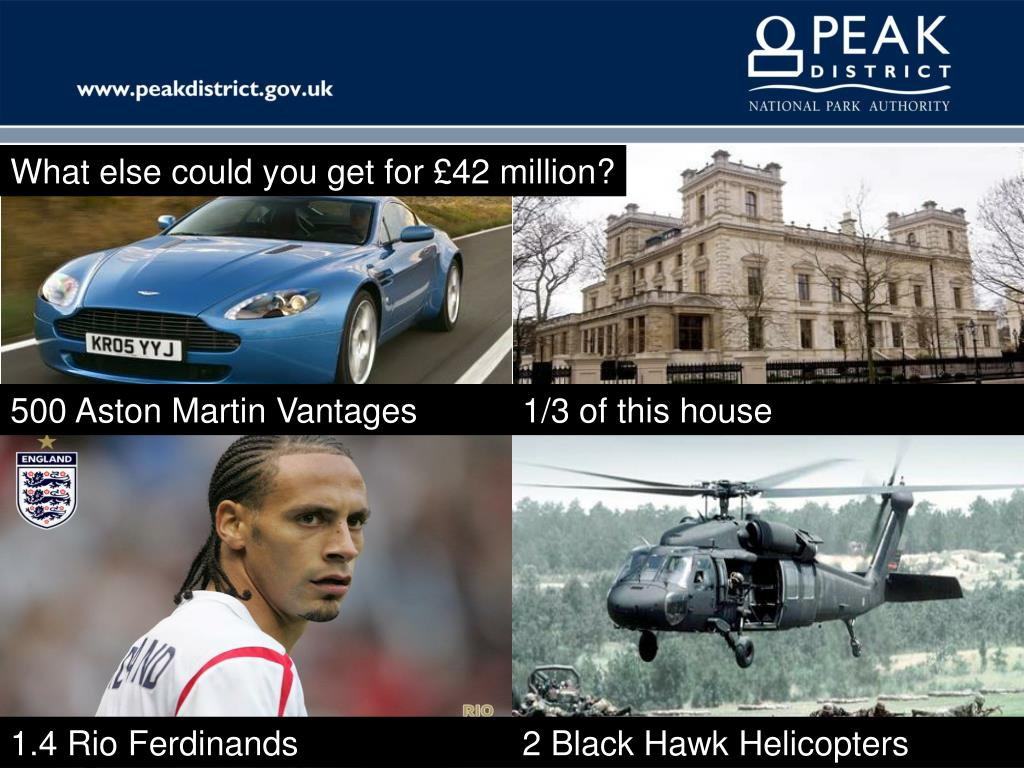 What else could you get for £42 million?