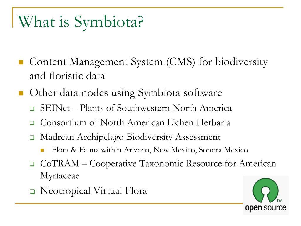 What is Symbiota?