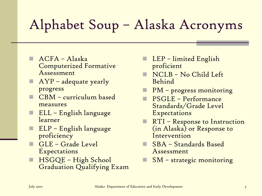 ACFA – Alaska Computerized Formative Assessment