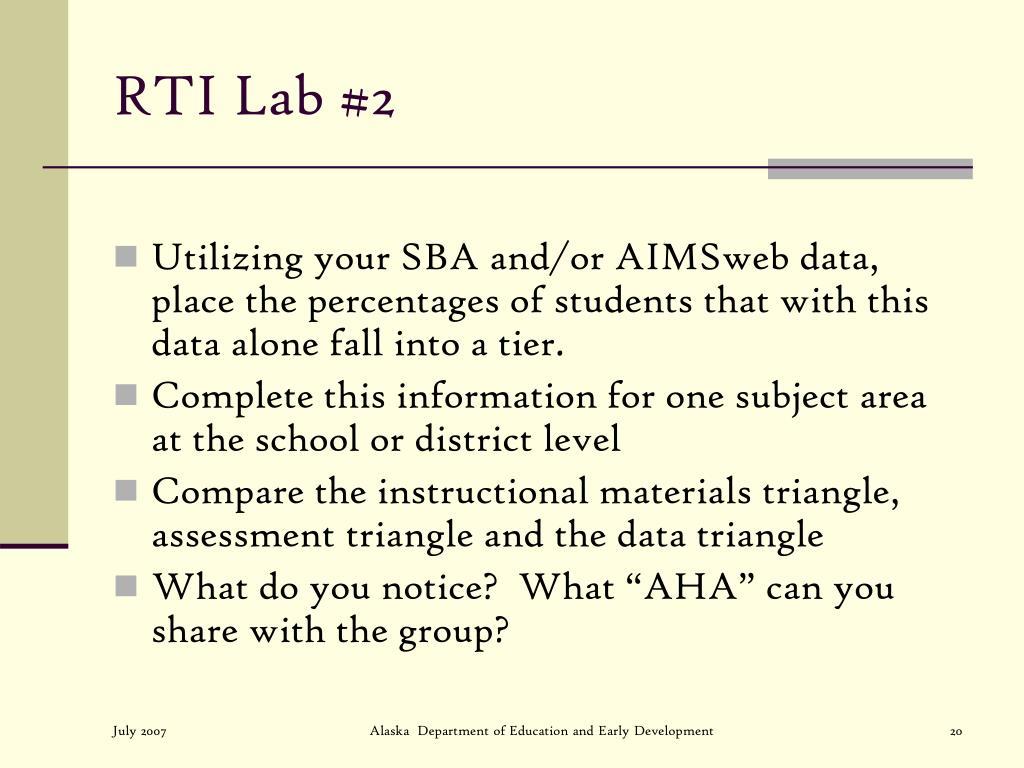 RTI Lab #2