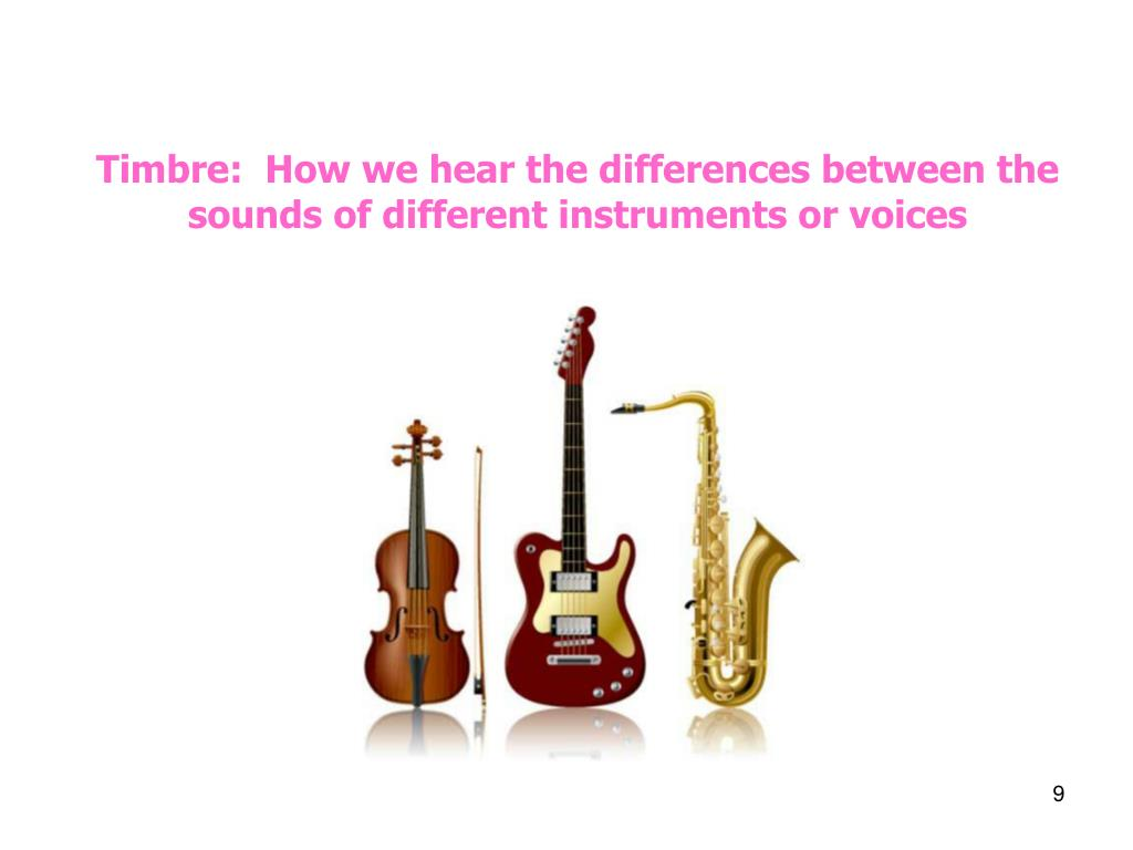 Timbre:  How we hear the differences between the