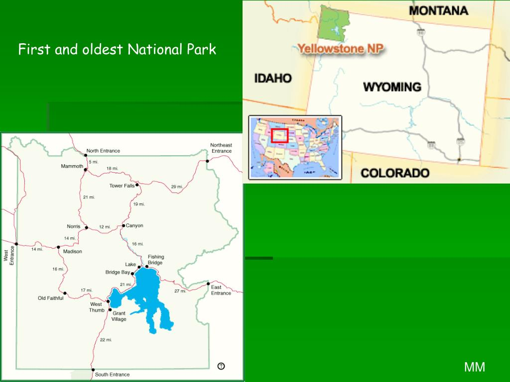 First and oldest National Park