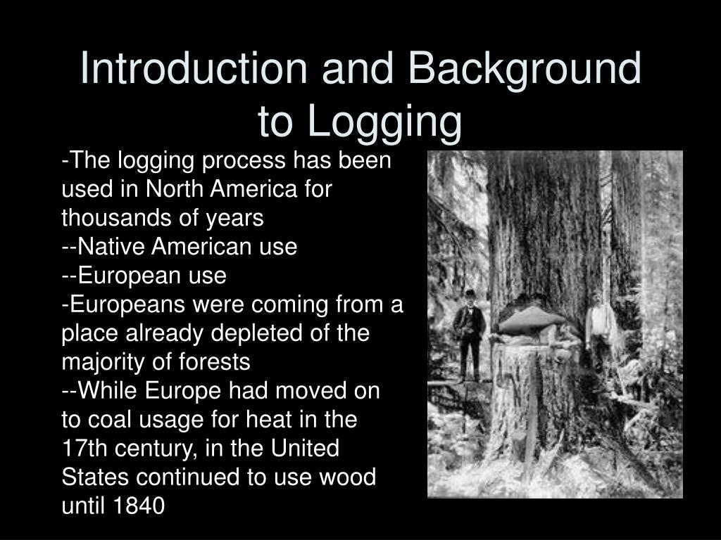 Introduction and Background to Logging