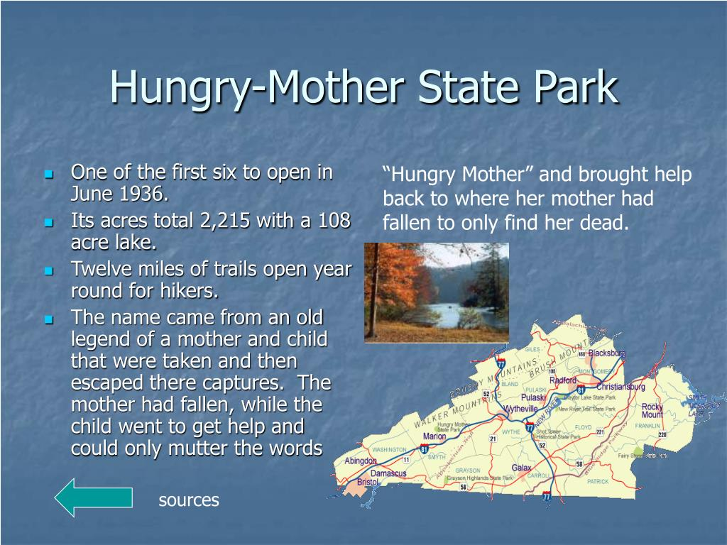Hungry-Mother State Park