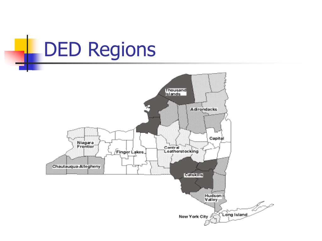 DED Regions