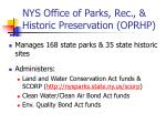 nys office of parks rec historic preservation oprhp