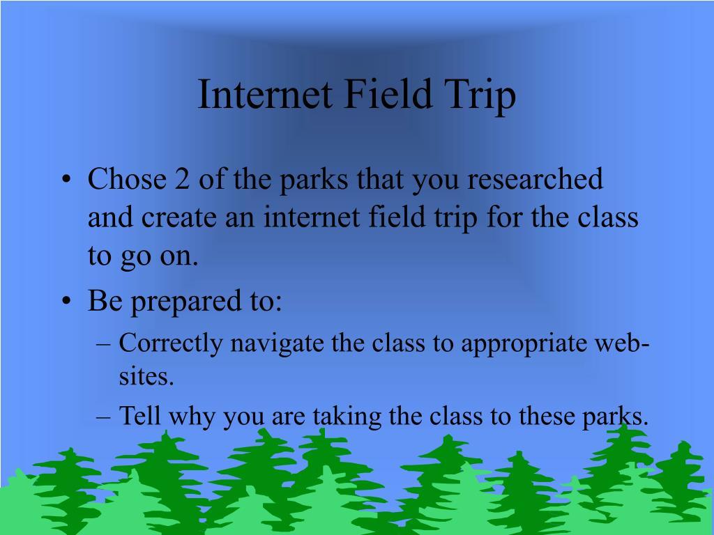 Internet Field Trip