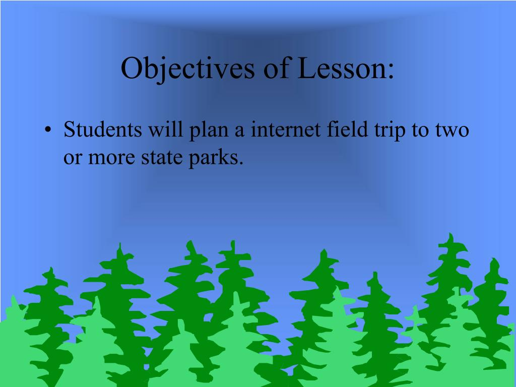 Objectives of Lesson: