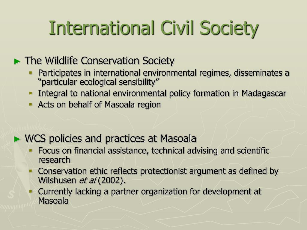 International Civil Society