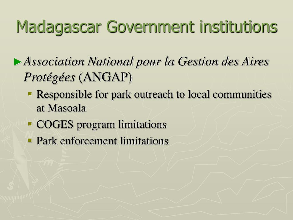 Madagascar Government institutions