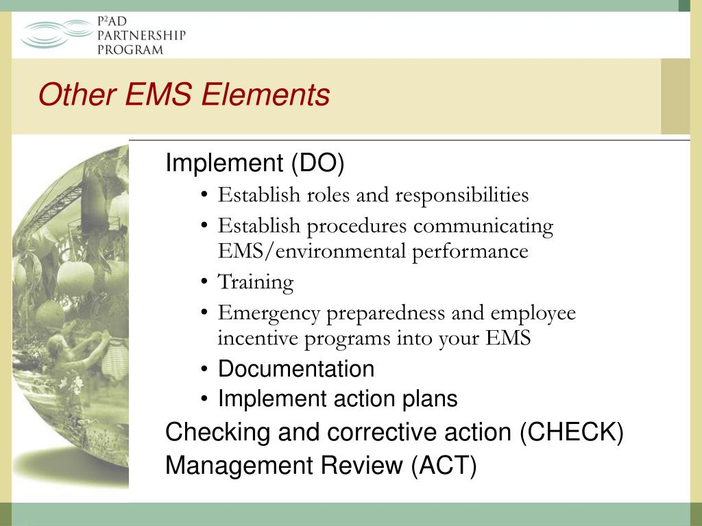 Other EMS Elements
