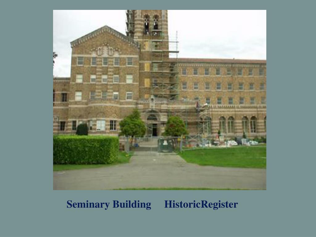 Seminary Building     HistoricRegister