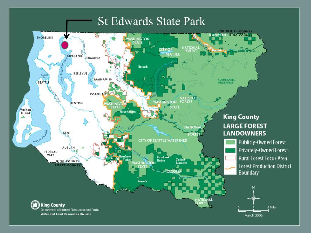 St Edwards State Park
