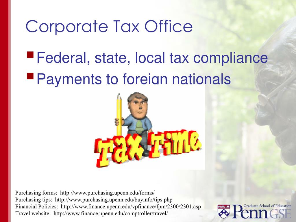Corporate Tax Office