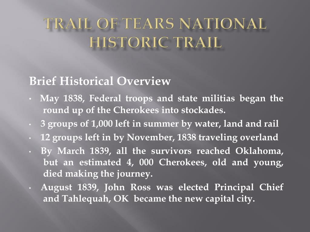 Trail of