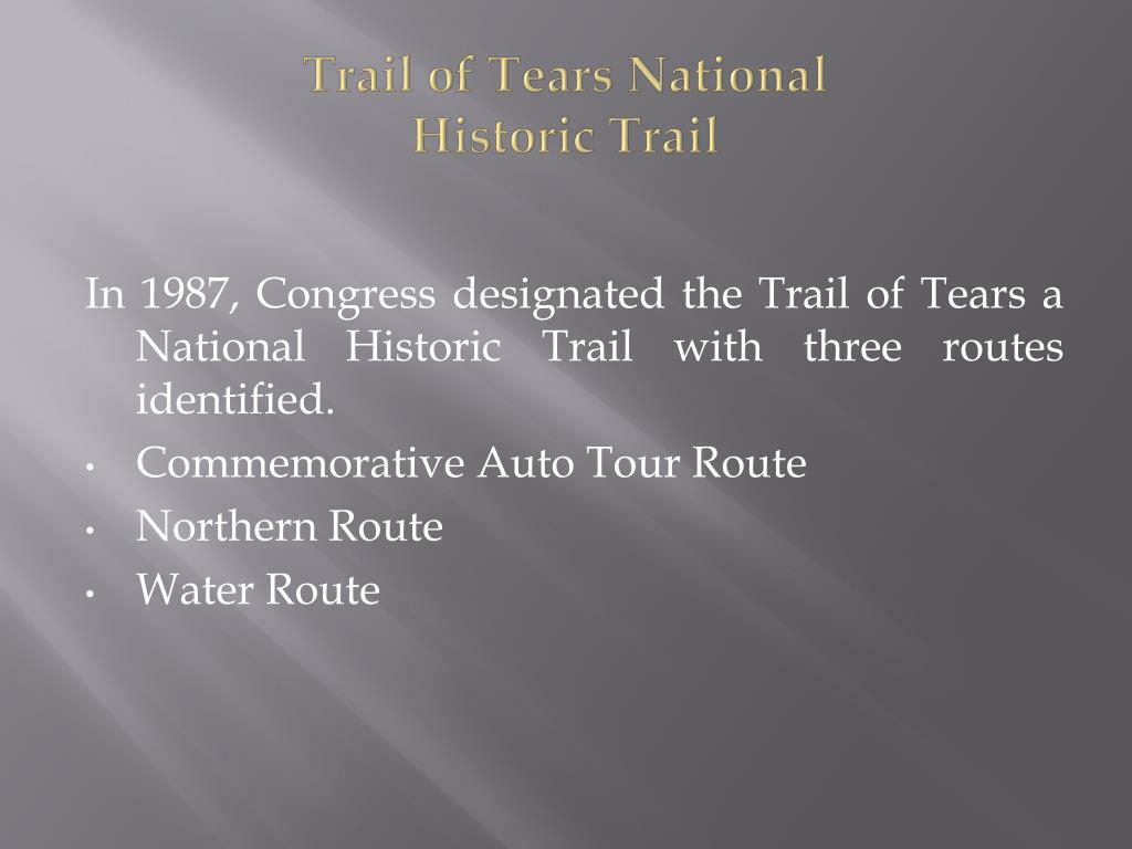 Trail of Tears National