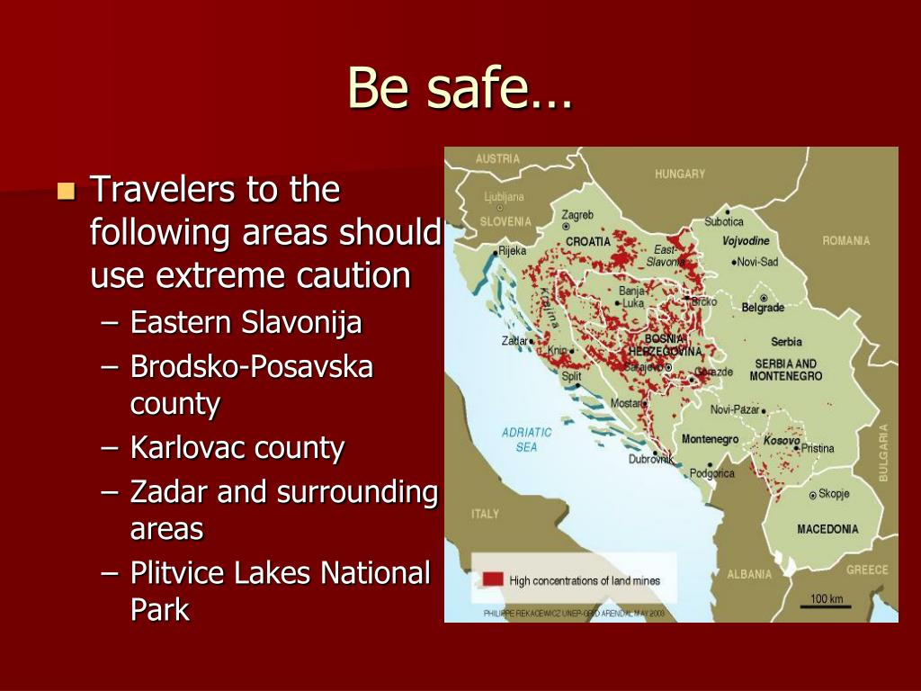 Be safe…