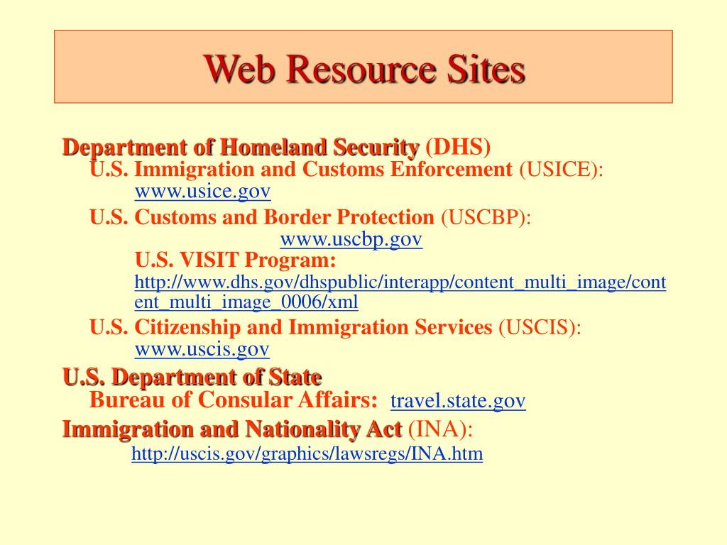 Web Resource Sites