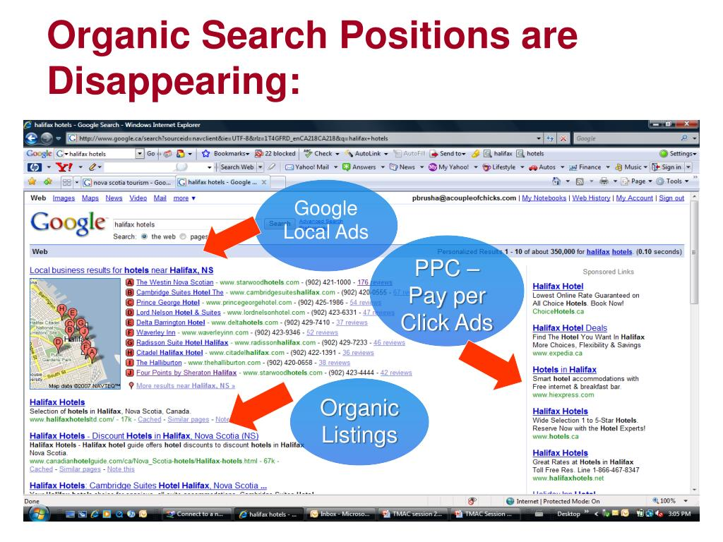 Organic Search Positions are Disappearing: