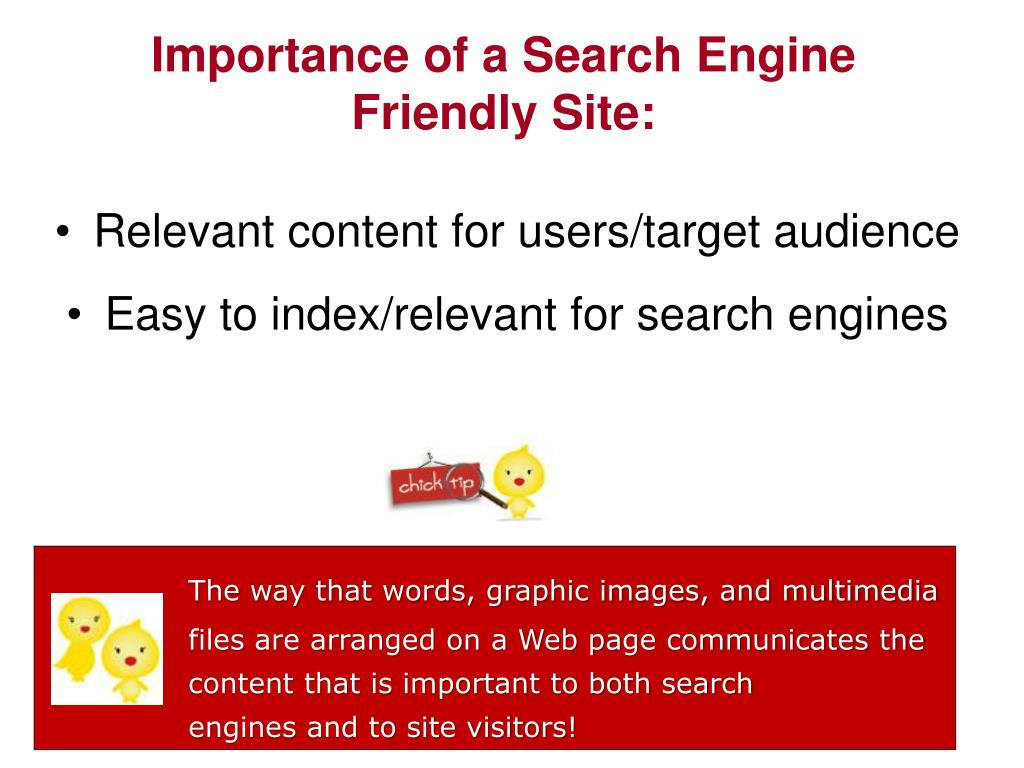 Importance of a Search Engine