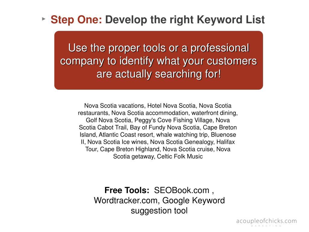 Free Tools: