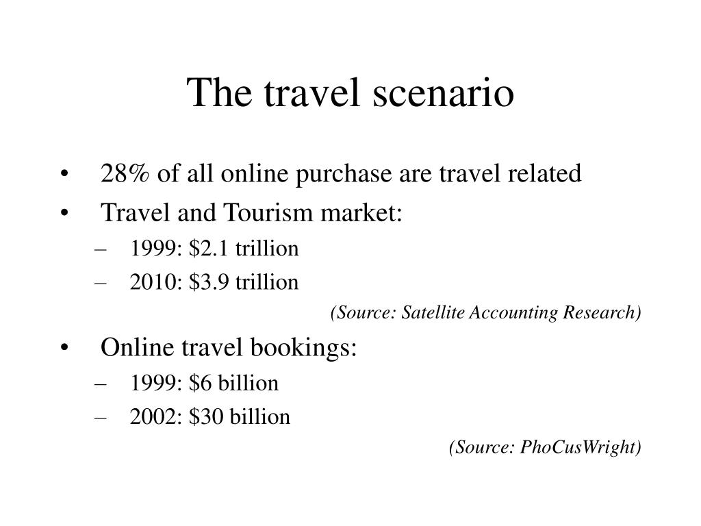 The travel scenario