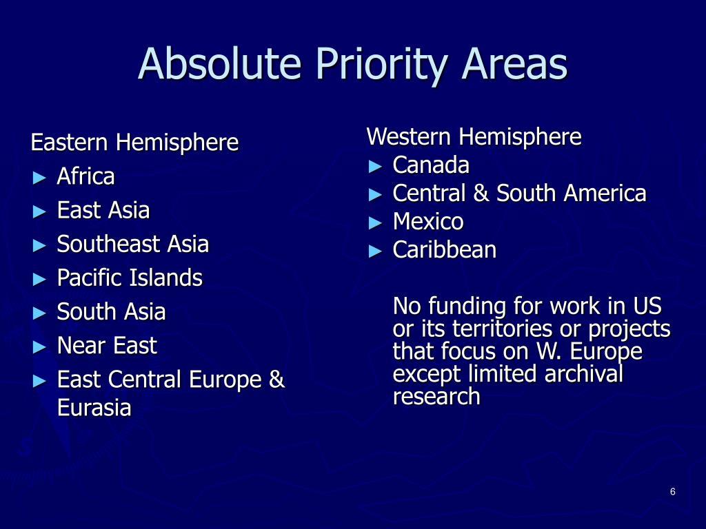 Eastern Hemisphere
