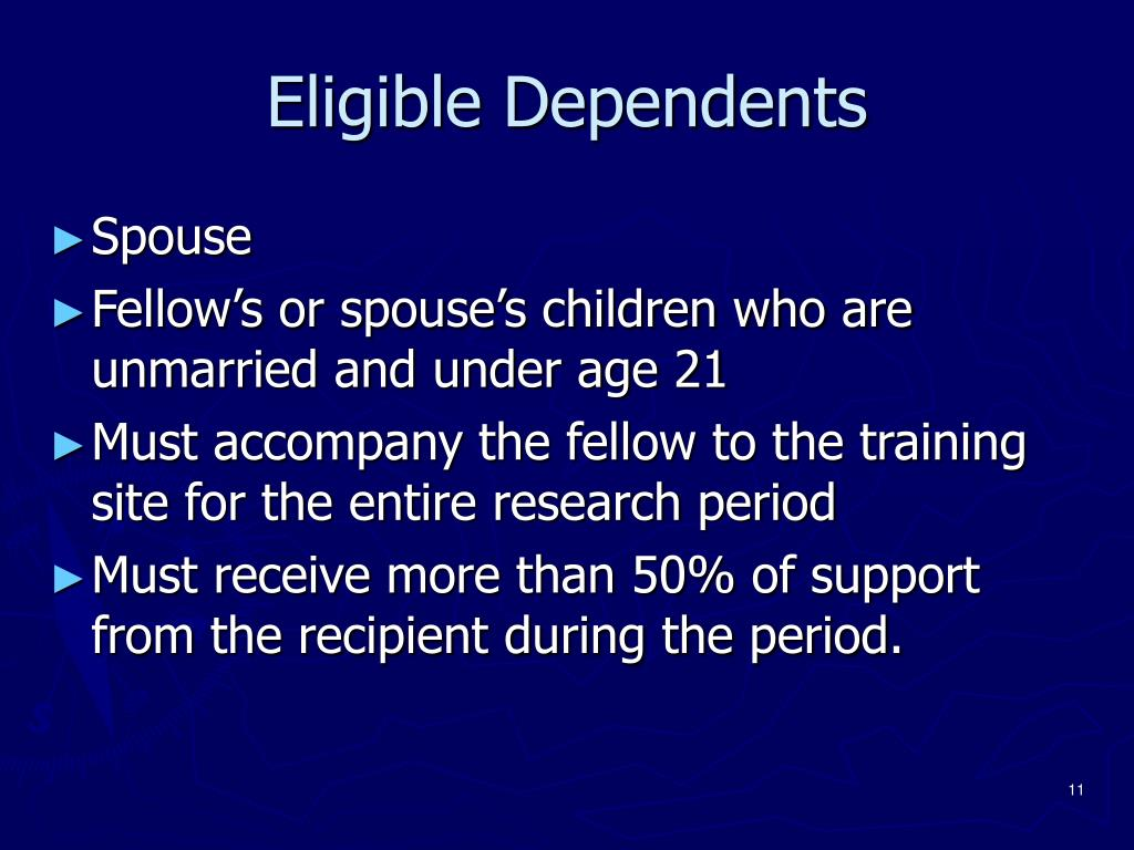 Eligible Dependents
