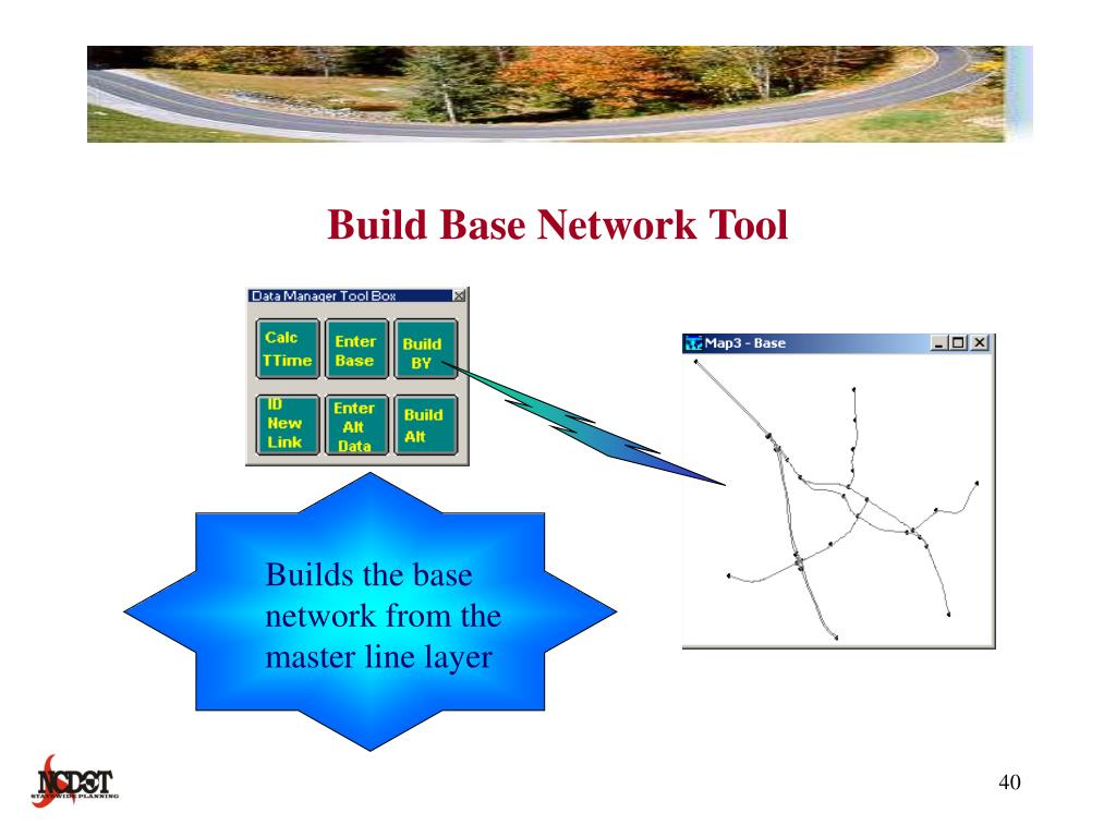 Build Base Network Tool