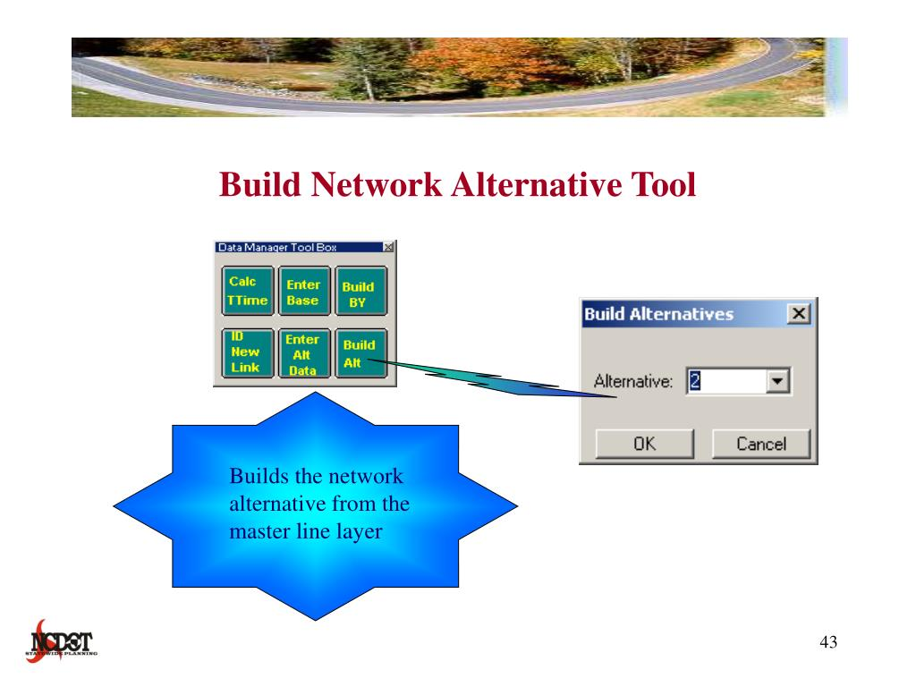 Build Network Alternative Tool