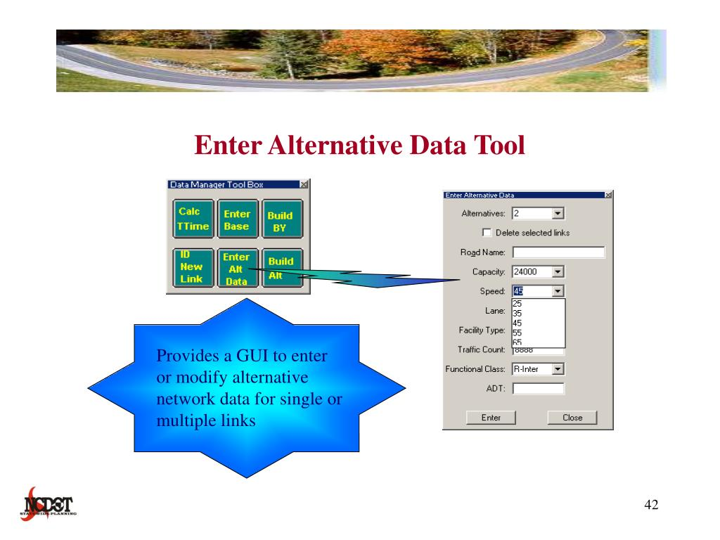 Enter Alternative Data Tool