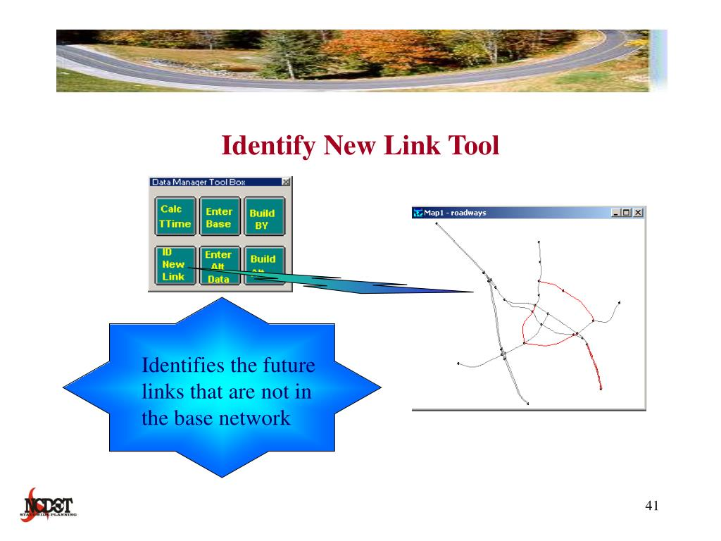 Identify New Link Tool