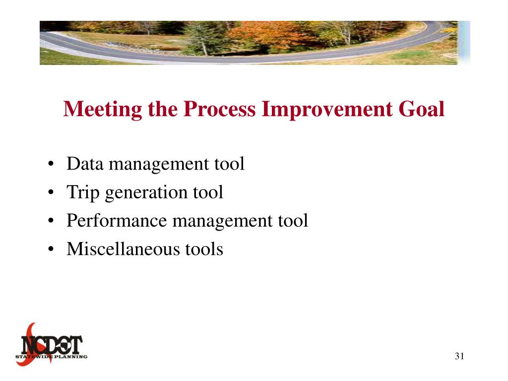 Meeting the Process Improvement Goal