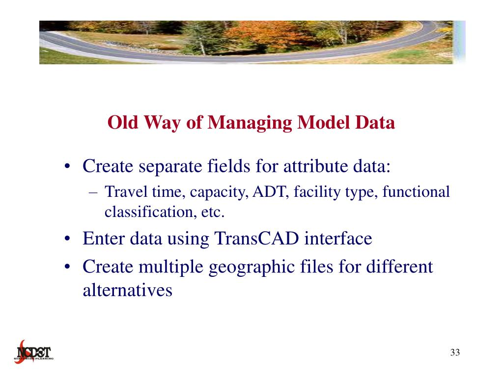 Old Way of Managing Model Data