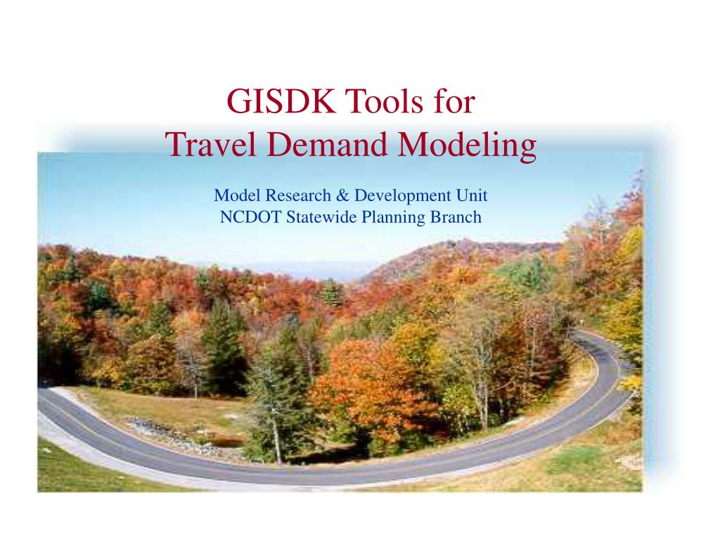 GISDK Tools for