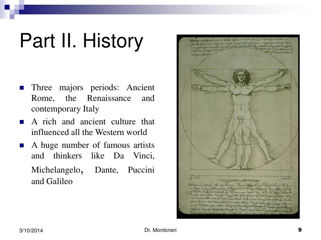 Part II. History