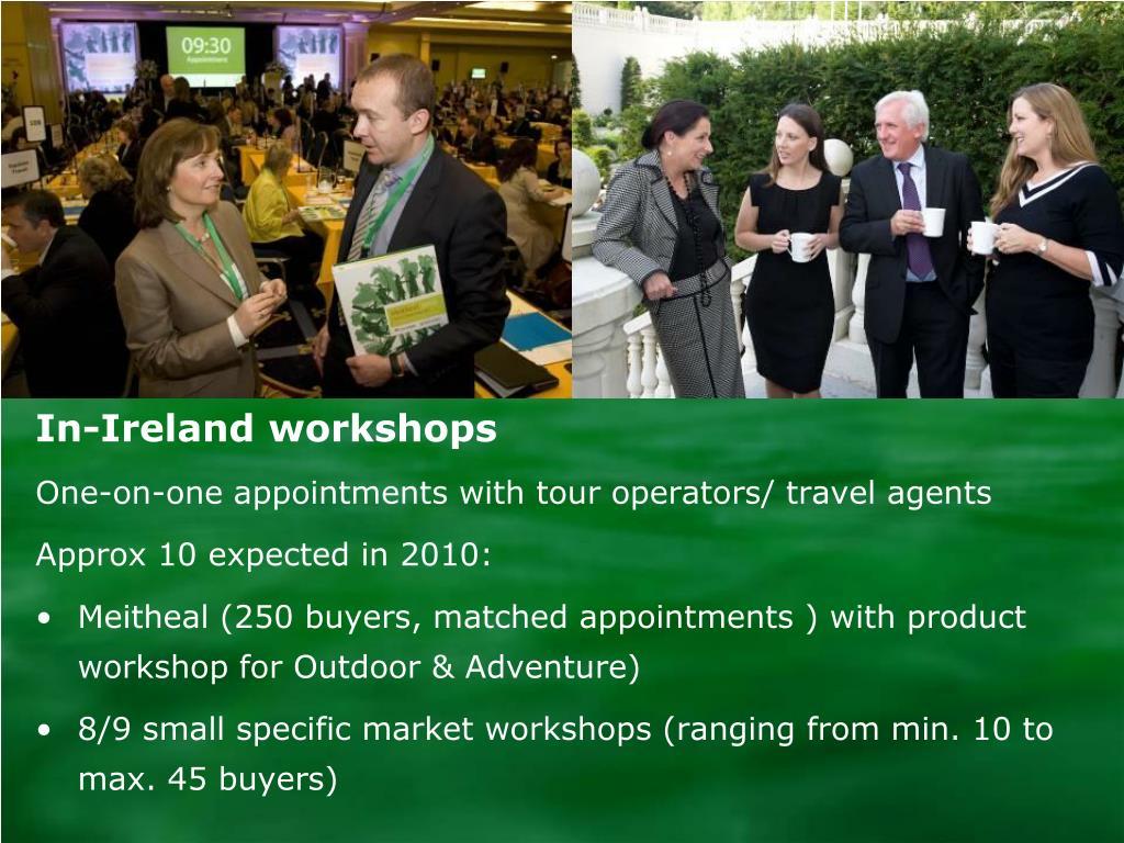 In-Ireland workshops
