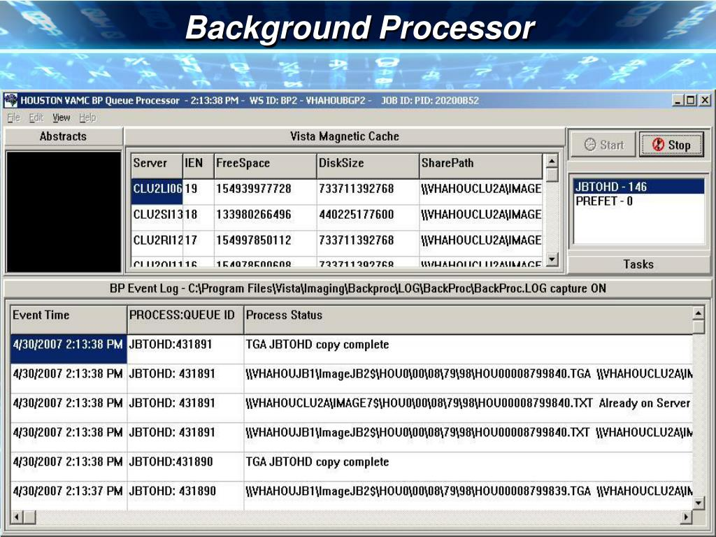 Background Processor