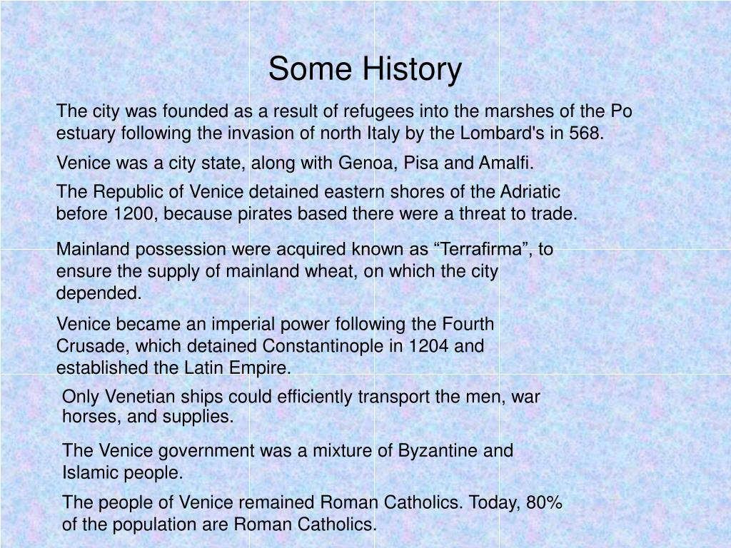 Some History