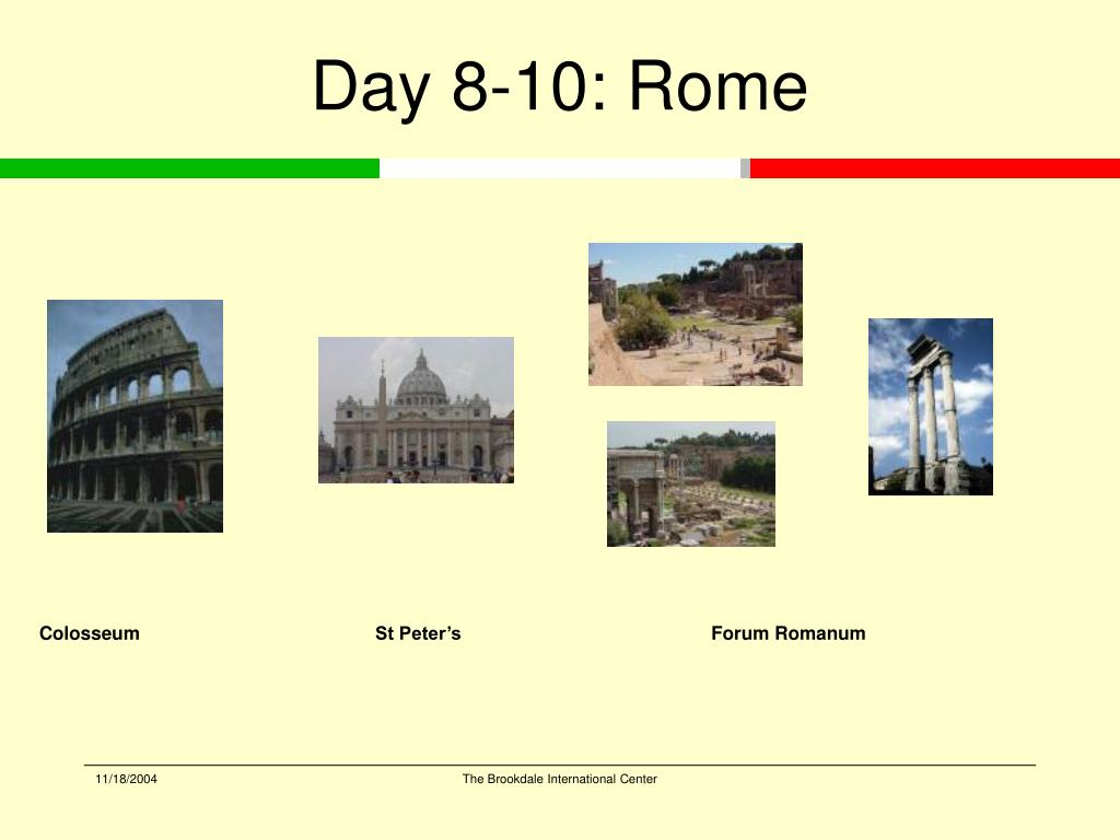 Day 8-10: Rome