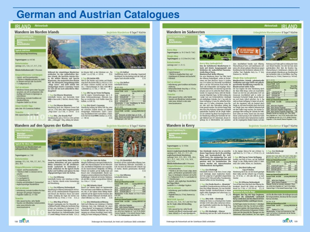 German and Austrian Catalogues