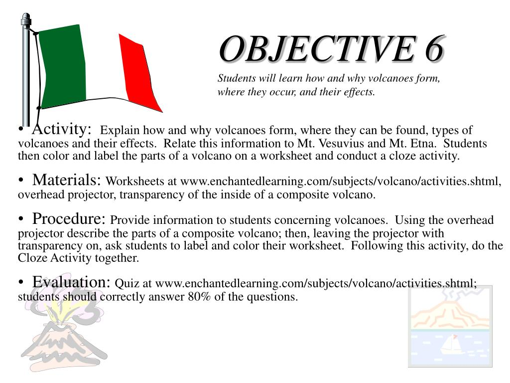 OBJECTIVE 6