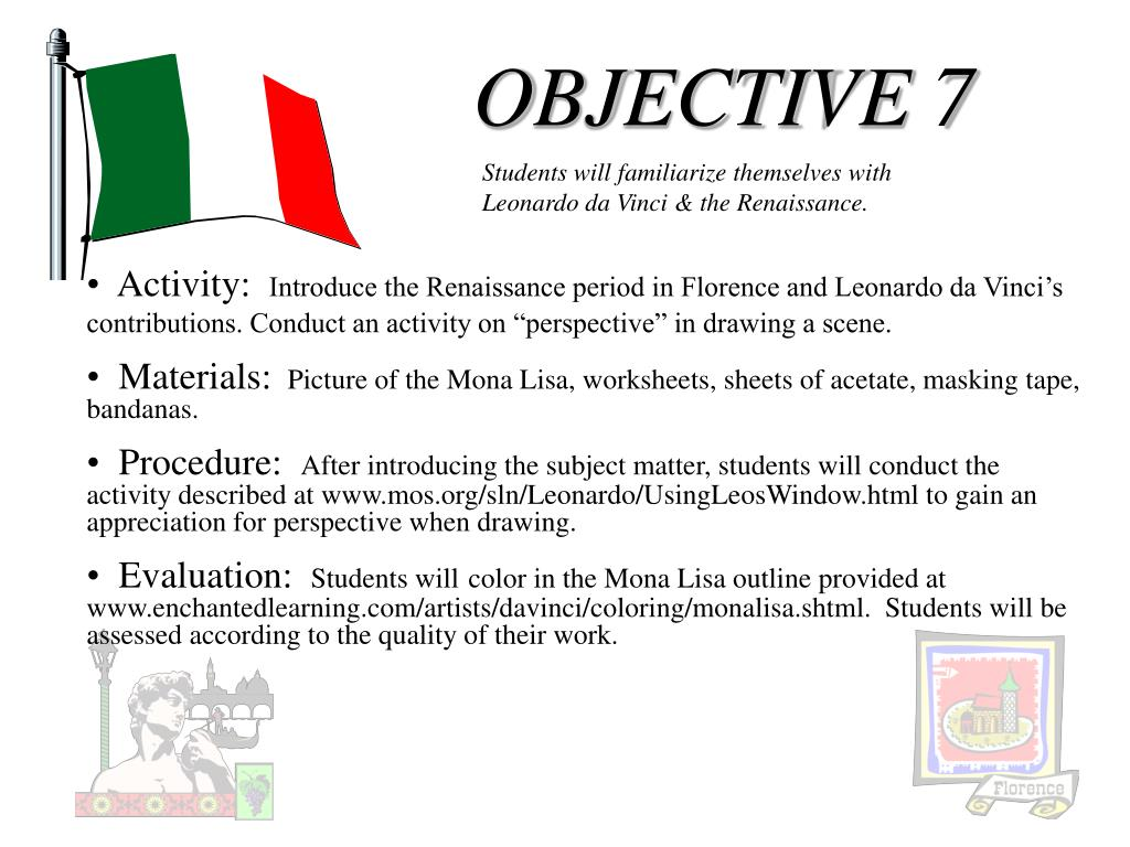 OBJECTIVE 7
