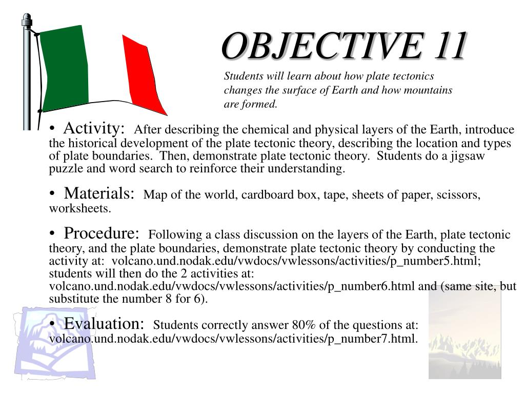 OBJECTIVE 11
