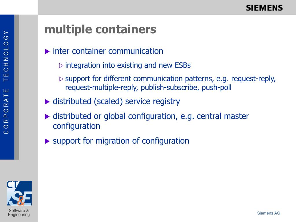 multiple containers